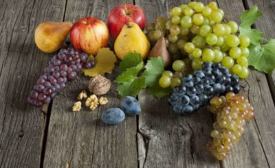 uva, pere, mele, prugne