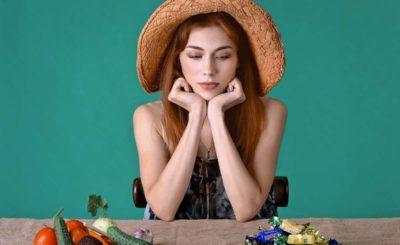 donna dieta e verdure