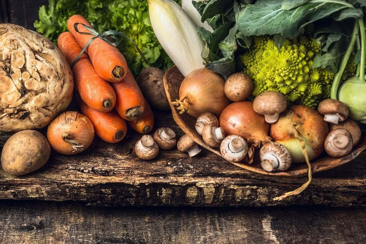 carote, tuberi, verdura stagione settembre