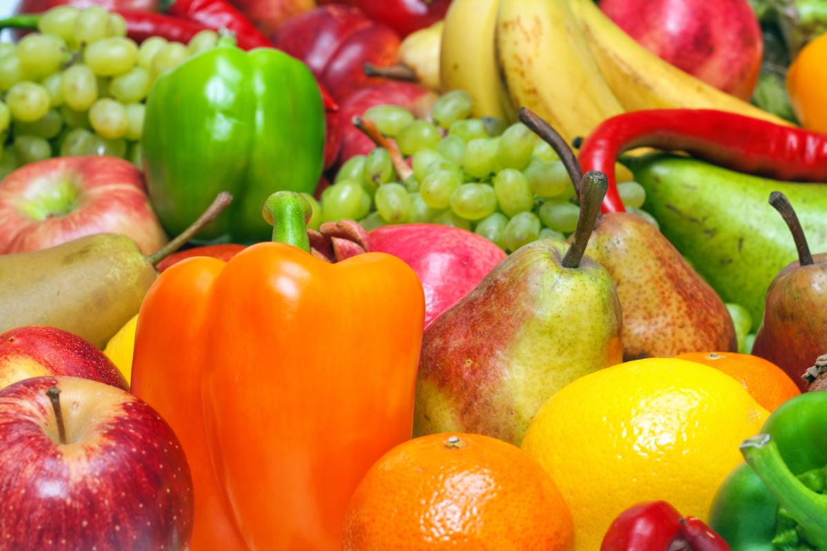 peperoni e verdura stagione luglio